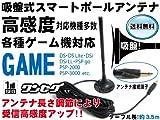 ワンセグアンテナ(PSP-2000/3000、DS、DS Lite、DSi用各種ゲーム機) 吸盤強化タイプ