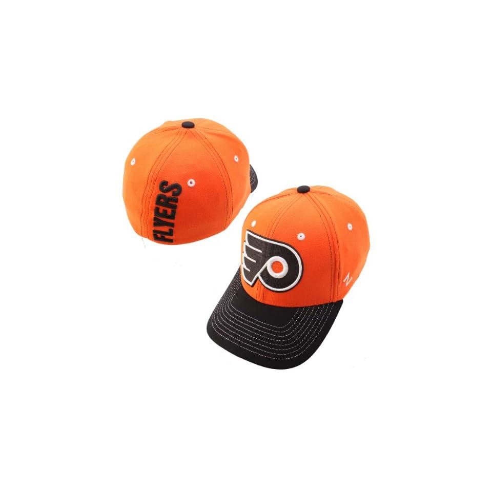 a49ecd01ea2 Zephyr Philadelphia Flyers Jumbotron Stretch Fit Hat Medium Large on ...