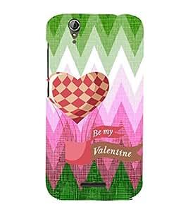 EPICCASE my valentine Mobile Back Case Cover For Acer Liquid Z630 (Designer Case)