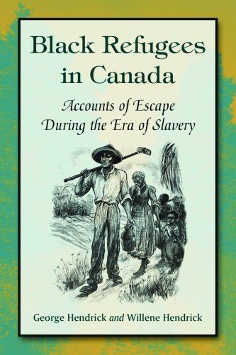 account of the slaves escape to canada for safety Abolition of slavery in canada nine members of his advisory legislative council and part of the ruling class in upper canada owned slaves and took slavery for.