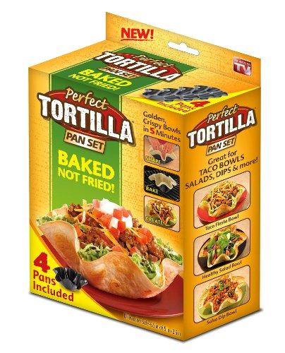 Review Perfect Tortilla Tortilla Pan Set 4 Pc.