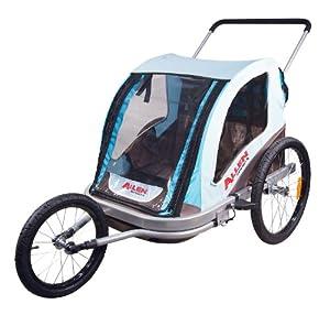 Allen Sports Premier Aluminum 2-Child Jogger Bike Trailer by Allen Sports