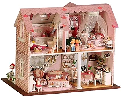 puppenhaus dollhouse bausatz aus holz spielzeug. Black Bedroom Furniture Sets. Home Design Ideas