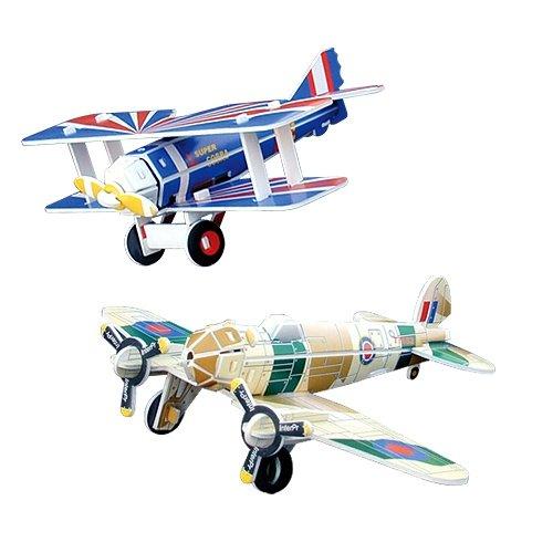 Jigsaw 3D Puzzle Transportation Series - Spad13/ Heinkel He-111 - 1