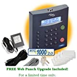 RTC-1000 2.0 Universal Employee Time Clock (Ethernet, USB & Serial Options Included!)