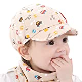 Malloom® Baby Hat Little Car Baseball Beret Cap Beige