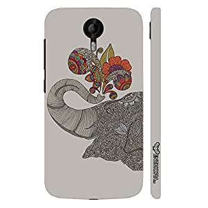 Micromax Canvas Nitro 3 E455 Indian Giant designer mobile hard shell case by Enthopia
