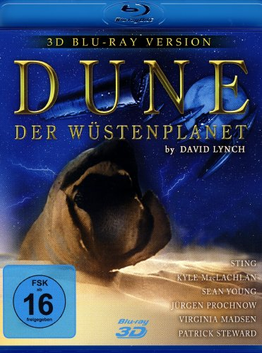 DUNE - Der Wüstenplanet (Real 3D Blu-ray Version)