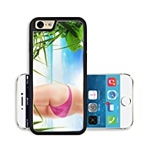 buy Liili Premium Apple Iphone 6 Iphone 6S Aluminum Snap Case Close Up View Of Nice Smooth Woman S Legs On Color Back Image Id 18634123
