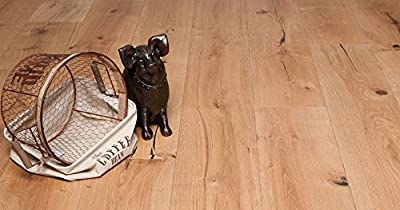 """Wide Plank 8 1/2"""" x 5/8"""" European French Oak (Original West) Prefinished Engineered Wood Flooring Sample at Discount Prices by Hurst Hardwoods"""