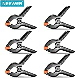 Neewer® 6-Pack Set Heavy Duty Muslin Spring Clamps Clips 4.3
