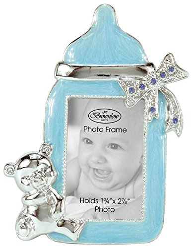 Brownlow Kitchen Baby Boy Bottle Frame, Blue