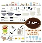 � table !: 400 recettes en infographie