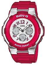 Casio Baby-G Damen-Armbanduhr Anaolg/ Digital Quarz BGA-114-4BER