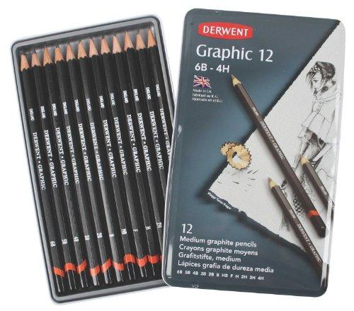 derwent-confezione-da-12-matite-di-grafite-da-6b-a-4h-in-scatola-di-metallo