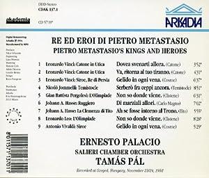 Ernesto Palacio (sings) Metastasio's Kings and Heroes