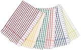 DHARA DESIGNS Cotton 6 Piece Kitchen Towel - Multicolour