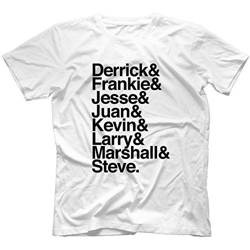 Detroit Techno & Chicago House Legends T-Shirt 100% Cotton | Frankie Knuckles[XL,White]