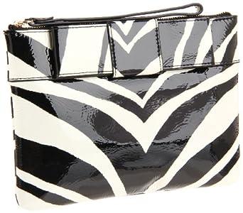 Kate Spade New York  Fanfare Mikala PWRU2450 Clutch,Zebra,One Size