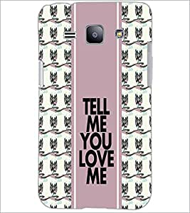 PrintDhaba Quote D-2782 Back Case Cover for SAMSUNG GALAXY J1 (Multi-Coloured)