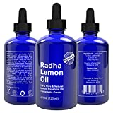 Lemon Essential Oil 4 Oz - 5x Extra Strength 100% Pure & Natural Therapeutic Grade - Cold Pressed PREMIUM QUALITY Oil from Italy