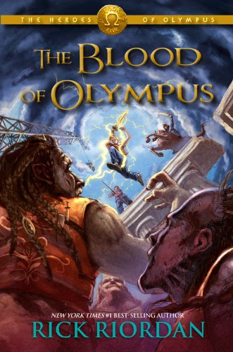 The Heroes of Olympus Book Five: The Blood of Olympus by Rick Riordan [Hardcover]
