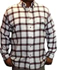 Ralph Lauren Chaps Flannel Shirt-M-Rock Salt