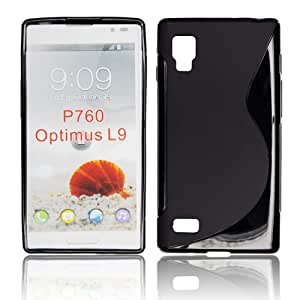 LG Optimus L9 P769 S Line Soft Gel TPU Anti-skid Back Case Cover