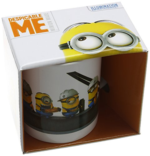 Despicable Me 2 - Tazza di ceramica, soggetto: Minion su trave