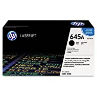 HP C9730A (HP-645A) Toner, 13000 Page-Yield, Black
