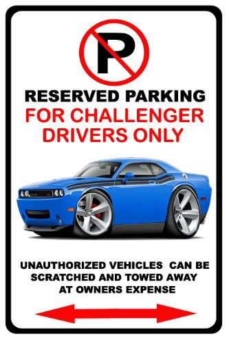 2009-15 Dodge Challenger Rt No Parking Sign