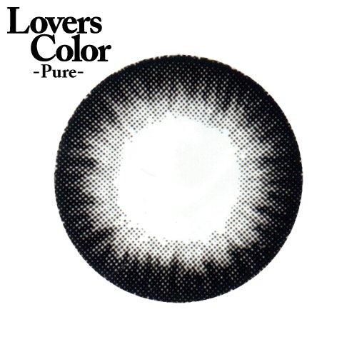 小森純×度ありカラコン Lovers ColorPureー シャギーブラック PWR0.50 DIA 14.0