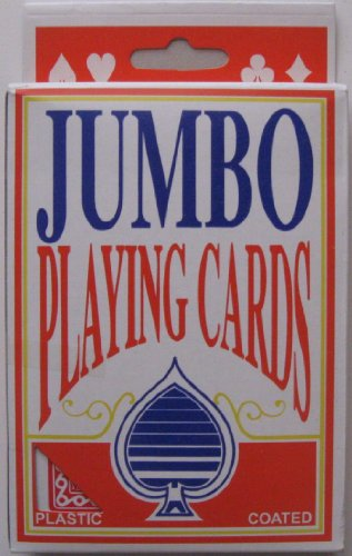 2pk Jumbo Texas Playing Cards