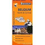 Belgium North & Central Regional Map 533 (Michelin Regional Maps)