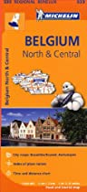Belgium North & Central Regional Map 533 (Michelin Regional Maps)