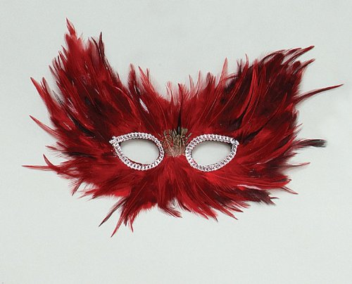 Red & Black Feather