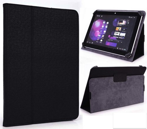Hipstreet Electron 8 Inch Tablet Case - UniGrip Edition - By Cush Cases (Black)