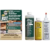 PC Products PC-Rot Terminator Two-Part Epoxy Wood Consolidant, Amber