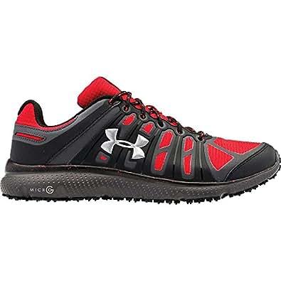 Amazon.com: Under Armour Micro G Pulse II Grit Shoe - Men's Red