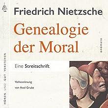 Zur Genealogie der Moral: Eine Streitschrift Hörbuch von Friedrich Nietzsche, Axel Grube Gesprochen von: Axel Grube