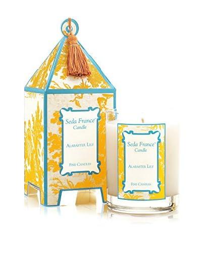 Seda France Alabaster Lily Pagoda Candle