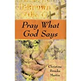 img - for Pray What God Says book / textbook / text book