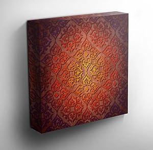 Canvas Wall Art Prints Moroccan Delight 90cm X 90cm