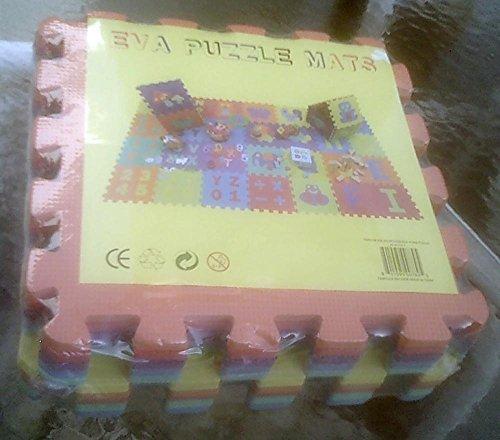 Eva Puzzle Mat - 10 Large Pieces - All Animals