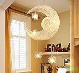 Nilight 吊り下げ照明 月&星のペンダントライト