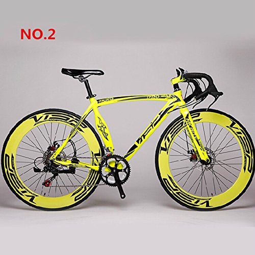 gangnumsky Fast VISP RD-Machete AL 52cm 700C X 70mm Road Bike Speed Road Bicycle Disc Brake Bicicleta Road Cycling Road Bike Yellow (Buck Wood Stove Parts compare prices)