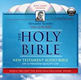 Audio Bible King James New Testament on CD by Scourby PLUS FREE DVD