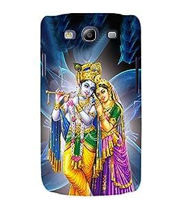 Radha Krishna 3D Hard Polycarbonate Designer Back Case Cover for Samsung Galaxy S3 Neo :: Samsung Galaxy S3 Neo i9300i