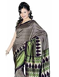 Sudarshan Silks Fancy Sarees-Multicolor-Ss... Silk Georgette