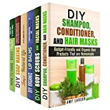 Organic Beauty Box Set (6 in 1): Shampoo, Body Scrubs, Lip Balms, Soaps and Herbs all Natural and Organic (Organic Beauty Products & Skin Care)